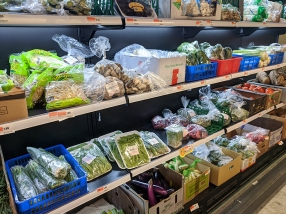 Rong Market, Soybean Sprouts, Eggplant etc,