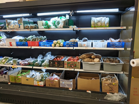 Rong Market, Vegetables