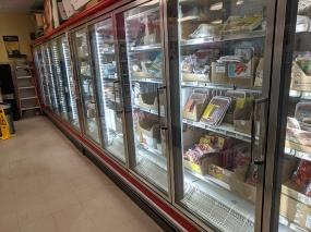 Asian Mart, Aisle 1, Frozen meats etc