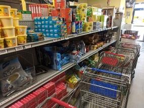 Asian Mart, Aisle 2, Tea, coffee etc