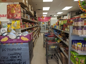 Asian Mart, Aisle 2, Various dried foods