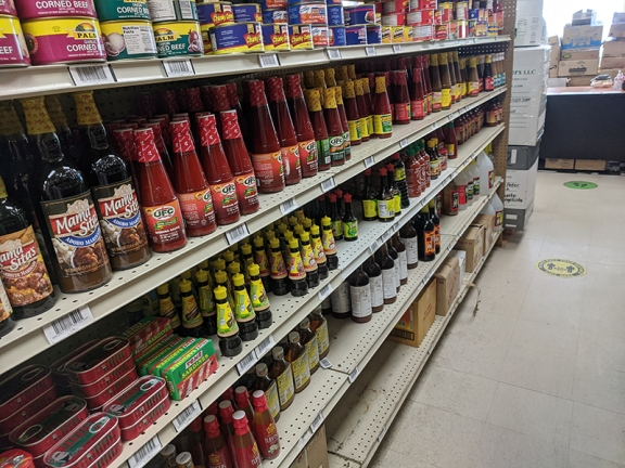 Asian Mart, Aisle 3, Sauces etc