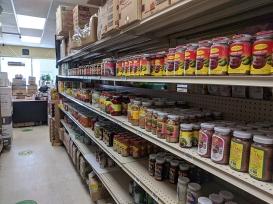 Asian Mart, Aisle 3, Shrimp paste etc