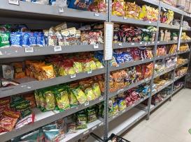 Asian Mart, Aisle 4, Chips etc