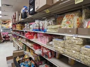 Asian Mart, Aisle 4, Noodles etc