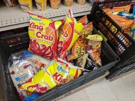 Asian Mart, Crab crackers