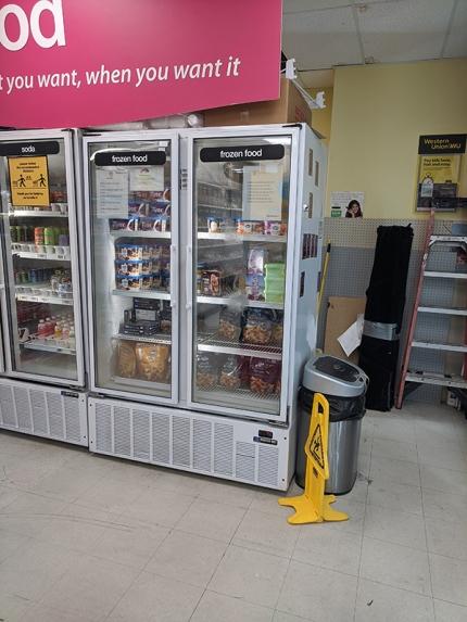 Asian Mart, Frozen food, soda