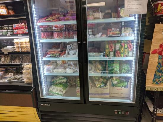 Asian Mart, Frozen prepared foods