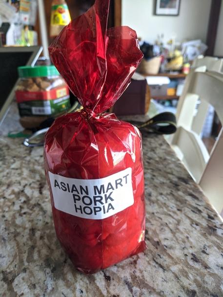 Asian Mart, Pork Hopia