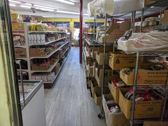 Chan Oriental Market, Aisle 3