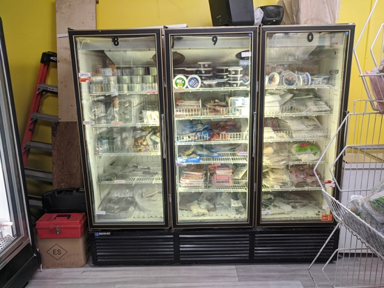 Chan Oriental Market, More freezer action