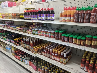 Chan Oriental Market, More sauces and chilli pastes