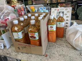 Chan Oriental Market, Passionfruit concentrate
