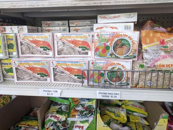Chan Oriental Market, Shrimp crackers etc