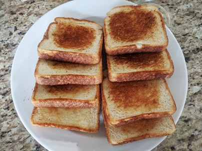 Firebox, Texas Toast