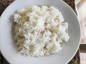 Peninsula, Steamed rice