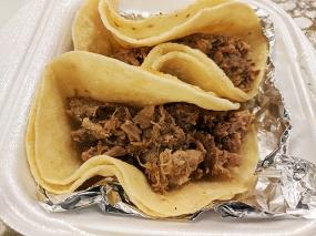 Coco's Place, Carne asada tacos