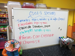 Coco's Place, Coco's Specials