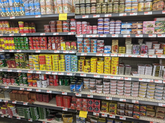 Dragon Star, Canned fish and meat