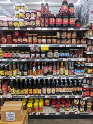 Dragon Star, Various jarred sauces etc.