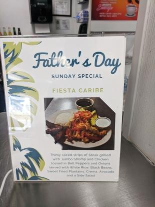 El Cubano, Father's Day Special