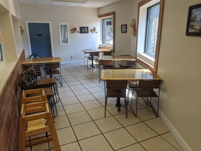 El Cubano, Larger indoor seating area