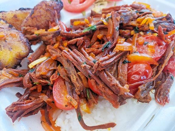 El Cubano, Shredded beef