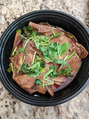 Grand Szechuan, Beef Tongue in Chilli Sauce