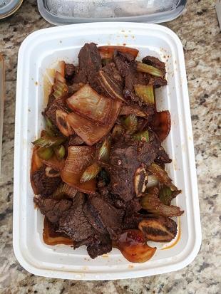 Grand Szechuan, Spicy Beef Short Ribs