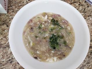 Grand Szechuan, West Lake Ground Beef Soup, reheated