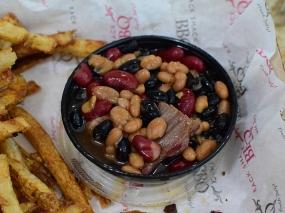 Rack Shack, BBQ beans