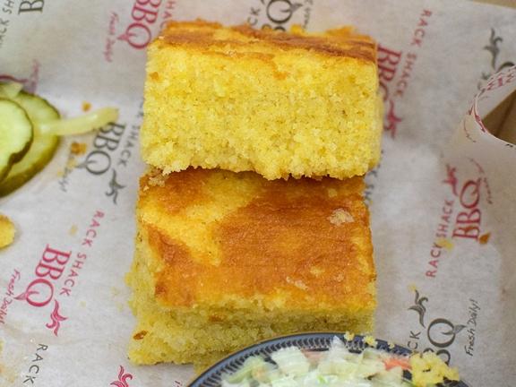 Rack Shack, Corn bread