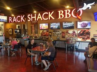 Rack Shack, Dining room