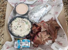 Rack Shack, Pulled pork meal