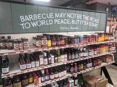Joe's Kansas City, Sauce selection