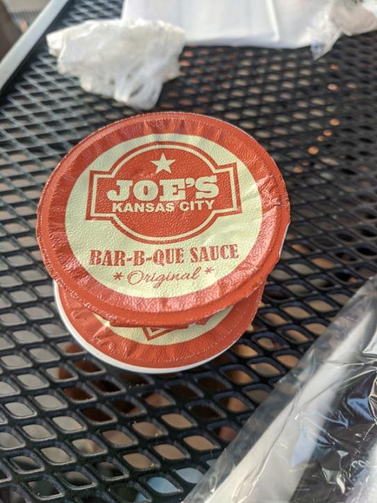 Joe's Kansas City, Sauce