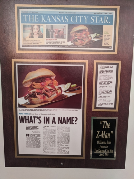 Joe's Kansas City, The Z-Man's backstory