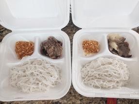 Karen Thai, Boat noodles fixings x 2
