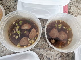 Karen Thai, Boat noodles x 2