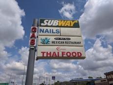 Karen Thai, Or you could go to Subway
