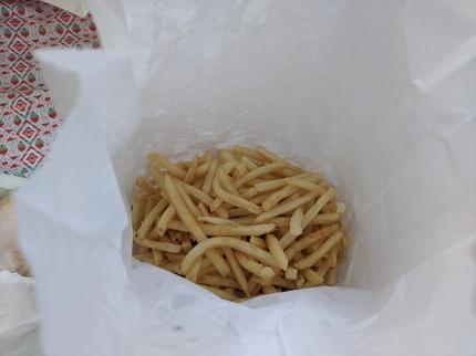Matt's Bar, A LOT of fries
