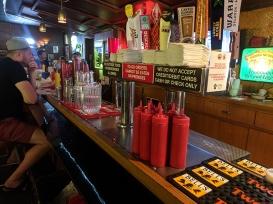 Matt's Bar, Cash and check only