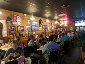 Matt's Bar, Dining room