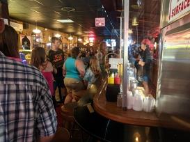 Matt's Bar, Line for tables