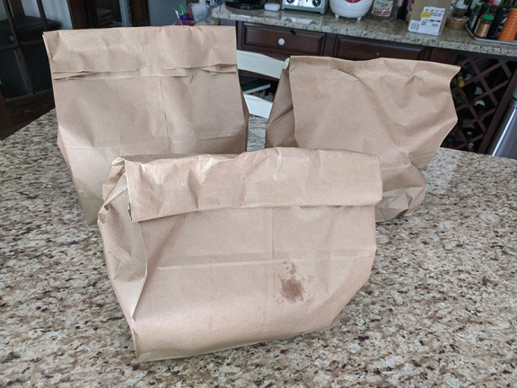Namaste India Grill, Three bags full