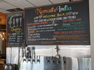 Namaste India Grill, Welcome Back, New Additions
