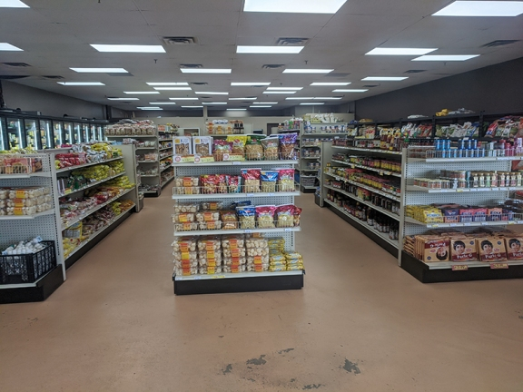 Surya India Foods, Well-spaced aisles