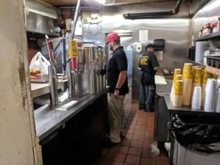 Arthur Bryant's, Kitchen