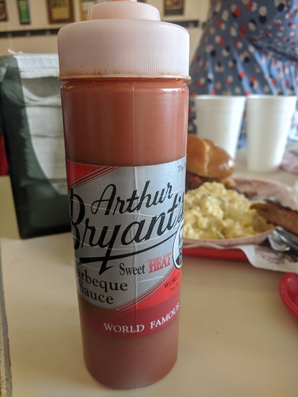 Arthur Bryant's, Sweet Heat