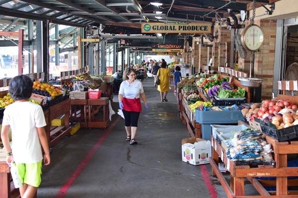 City Market, Lots of veg